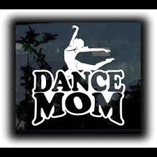 Dance Mom Window Decal Sticker A1 Custom Sticker Shop