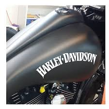 Motorcycle Decals Stickers 2x Harley Davidson Tank Stickers Decals Suit Sportster V Rod Roadster Iron 1200 Auto Parts And Vehicles