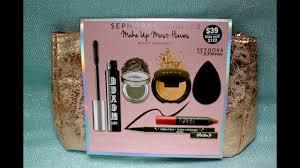 sephora makeup must haves kit
