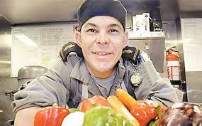 Adam Myers: Navy chef   Daily Mercury