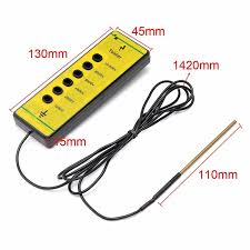 308961679 Durable Tension Fence Voltage Tester Detector Farm Electric Fencing Faulty Finder Good Livestock Electric Fence Accessories Home Garden Garden Supplies