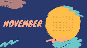 desktop wallpapers calendar november