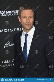 Aaron Eckhart editorial stock image. Image of style - 175767994