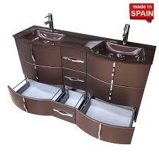 krom socimobel double bathroom vanity