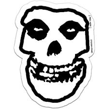 Amazon Com Misfits Skull Danzig Car Bumper Sticker Decal 4 X 5 Automotive