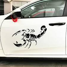 50cm 30cm Scorpion Car Stickers Funny Creative Decoration Decals For Doors Windshield Auto Tuning Styling Vinyls D21 Auto Tuning Auto Stylingscorpion Sticker Aliexpress