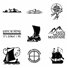 Car Stickers Mountains Adventure Compass And Sailboat Stickers Vinyl Auto Goods Decor Cars Accessories Decoration Shop The Nation
