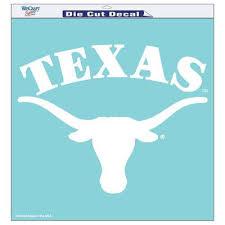 Shop Texas Longhorns Car Decals Ut Longhorns Window Stickers Texas Clings Ut Window Decals