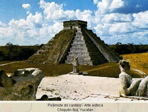 """Resultado de imagem para astecas tinham piramides"""""""