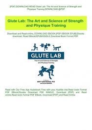pdf read glute lab the art