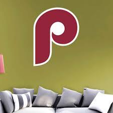 Philadelphia Phillies Fathead Logo Giant Removable Decal