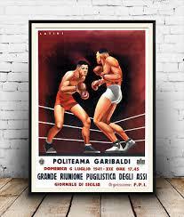 joe louis vintage boxing advertising