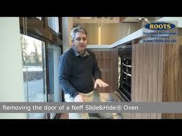 removing a neff slide hide oven door