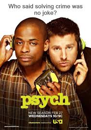 James Roday and Dule Hill - Psych (With images) | Psych tv, Psych ...