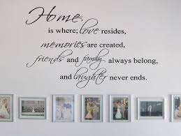 Home Decor Items Home Family And Friends Wall Quote Stickerfriends And Family Wall Decal Kisetsu System Co Jp
