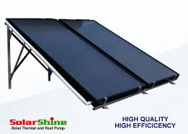 liquid flat plate solar collector