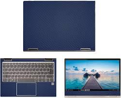 Amazon Com Decalrus Protective Decal For Lenovo Yoga 730 13 13 3 Screen Laptop Blue Carbon Fiber Skin Case Cover Wrap Cflenovoyoga730 13blue Electronics