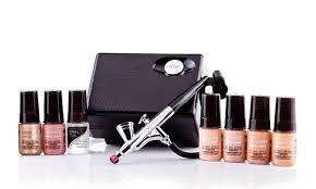 luminess airbrush system with makeup