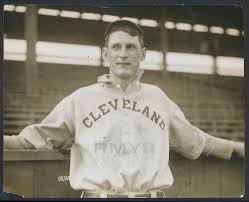 """Lot # 45: 1911 Ivy Olson, """"Cleveland Indians Young Infielder"""" Large Photo  by Charles Conlon"""