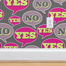 yes no yes no spoonflower