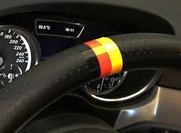 Euro Audi Bmw Mercedes Germany Flag Color Stripe Decal Sticker Ijdmtoy Com