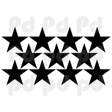 Stars Wall Decal Kids Bedroom Star Decals Peel And Stick Bedroom Stars American Wall Designs