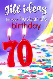 20 gift ideas for your husband s 70th