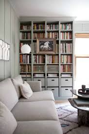 built in ikea billy bookcase hack a