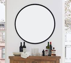 layne round wall mirror pottery barn