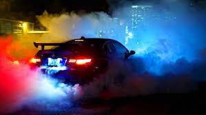 bmw smoke car wallpapers hd desktop