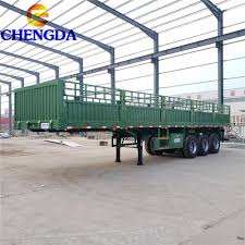 China 40ton Fence Cargo Trailer Manufacturers And Factory Price Sinotruck