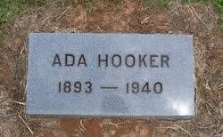 Ada Walker Hooker (1893-1940) - Find A Grave Memorial