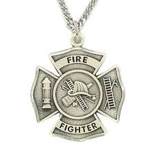 sterling silver firefighter st florian