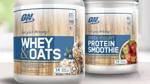 optimum nutrition shakes up mornings