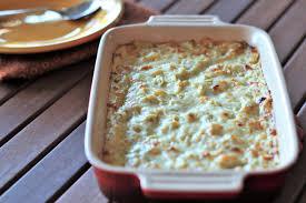 boursin and yogurt artichoke gratin recipe