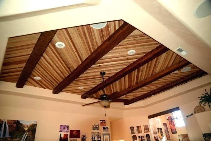 Image result for Artificial wood ceiling
