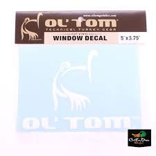 Ol Tom Window Decal