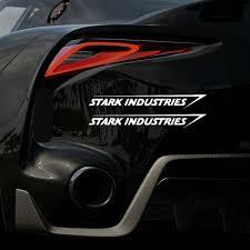 Stark Industries Sticker Car Truck Motorcycle Vinyl Decal Wish