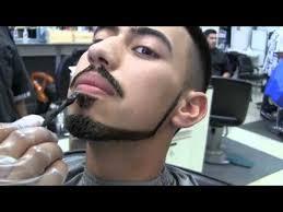 bigen hair color application on haircut