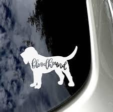 Bloodhound Car Decal Bloodhound Lover Car Sticker Car Accessory Bloodhound Mom Bloodhound Sticke Bloodhound Car Decals Car Stickers