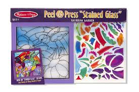 melissa doug stained glass see