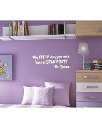 28 Inch X 10 5 Inch Seuss Wall Kids Room Decal Innovative Stencils 1167 28 Mblack Why