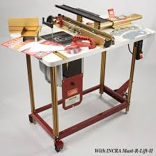 Incra Router Fence Table Combo 3 The Works