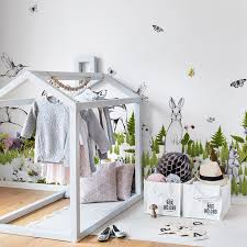 5 Fresh Nature Themed Wallpapers For Spring Petit Small Kids Room Design Kids Room Colorful Kids Room