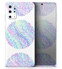 Iridescent Dahlia V5 Design Skinz Ultra Thin High Quality Vinyl Decal Protective Wrap Skin Cover Compatible With The Samsung Galaxy Note 10 Note 20 Galaxy S20 S10 S9 Plus And More