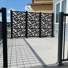 Porpora 6 Ft H X 4 Ft W Metal Fence Panel Wayfair