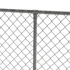 Yardlink Gray Metal Fence Panel Clamp Set Chain Link Fence In The Fence Hardware Department At Lowes Com