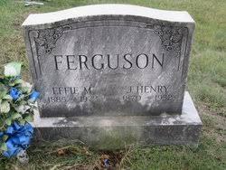 Effie May Mitchell Ferguson (1885-1972) - Find A Grave Memorial