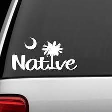 South Carolina Native Palmetto Tree Decal Sticker Van Car Vacation Beach Rear Window Car Sticker Car Stickers Aliexpress
