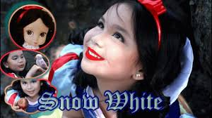 snow white makeover and make up